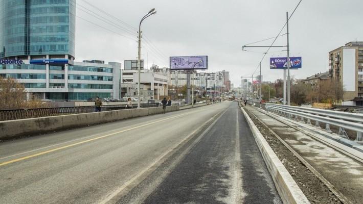 ВЕкатеринбурге перекроют движение около Макаровского моста