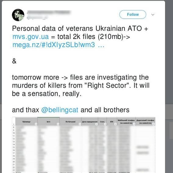 Милиция: Анкеты ветеранов АТО похищены вМинсоцполитики
