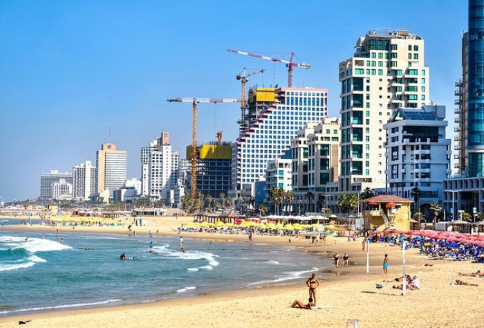 Популярность Тель-Авива растет, загрузка отелей-соответственно