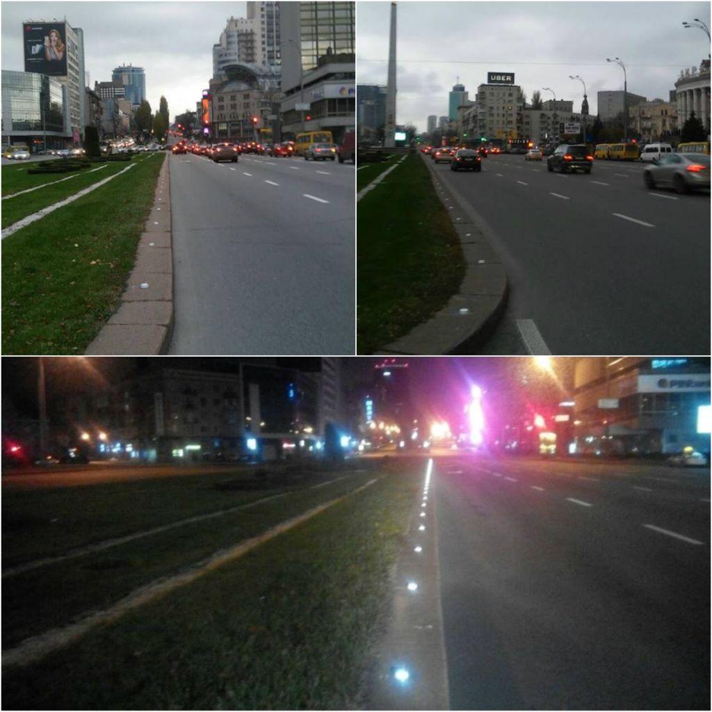 Встолице установили дополнительные светоотражающие субъекты