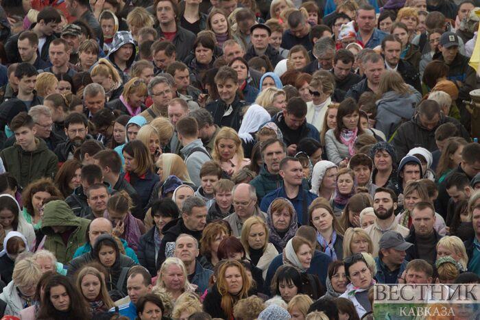 Около 80% россиян позитивно оценивают работу В. В. Путина