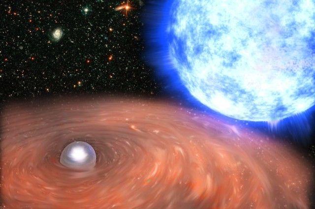 Астрономы впервый раз увидели сжатие юного белого карлика