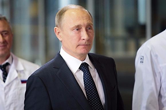 Путин прилетел вЧелябинск инаправляется накомпрессорный завод