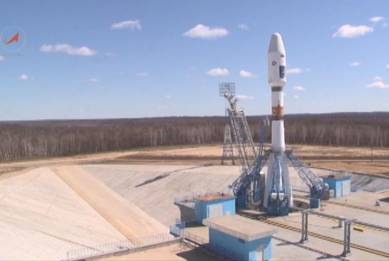 Роскосмос сказал о готовности ракеты-носителя «Союз-2.1Б» квывозу на«Восточном»
