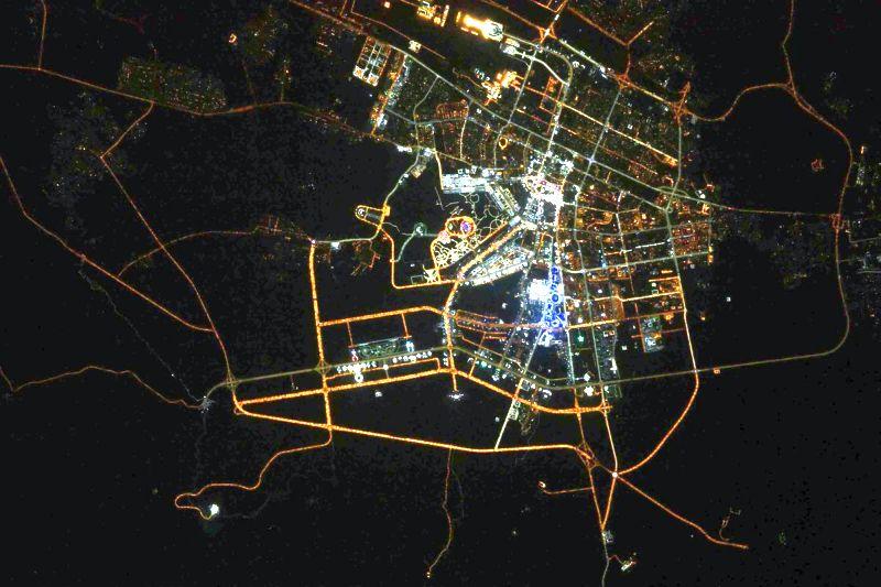Российский космонавт сфотографировал Новосибирск сборта МКС