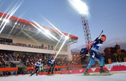Российскую Федерацию лишили права принимать заключительный этап Кубка мира побиатлону