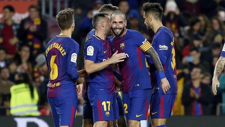 «Барселона» разгромила «Мурсию» ивышла в1/8 финала Кубка Испании