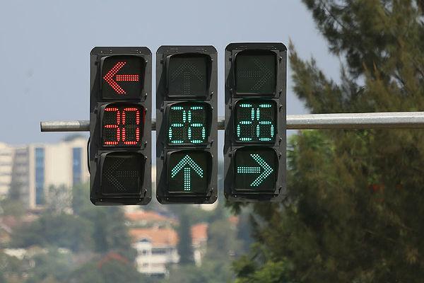 Ученые сообщили о выгоде светофоров с противоположным отсчетом