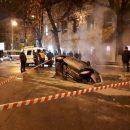 Такси ушло под землю вцентре Саратова