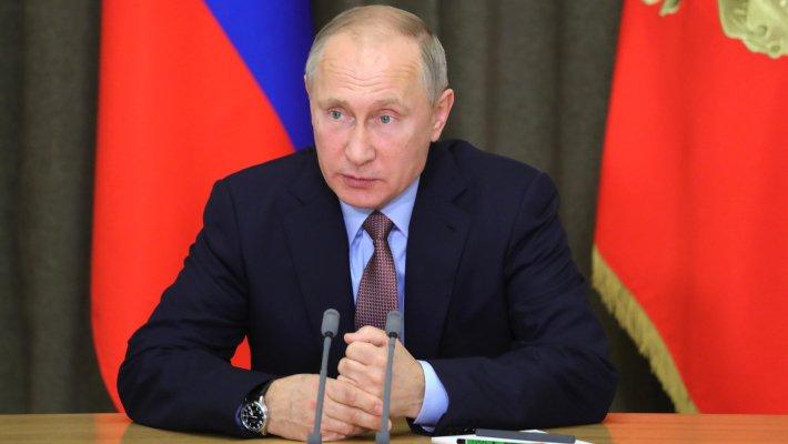 Нейтрализация хим. оружия в Российской Федерации была проведена под строгим международным контролем— Путин