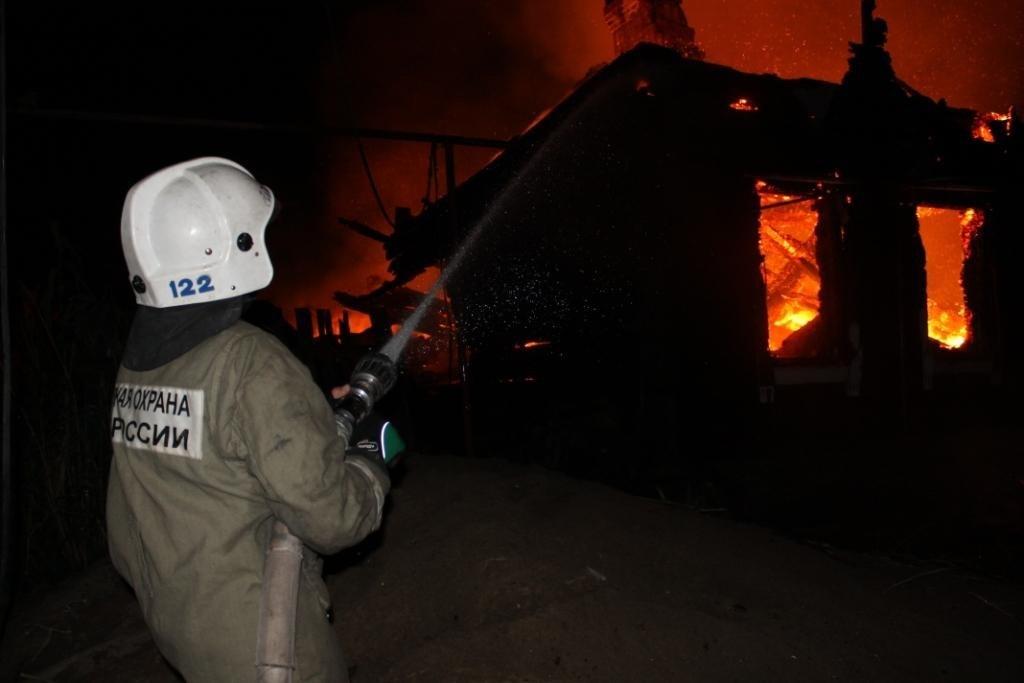 Заутро вТверской области сгорели две бани