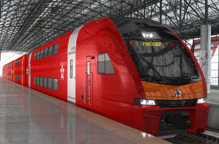 Запущены двухэтажные поезда вДомодедово