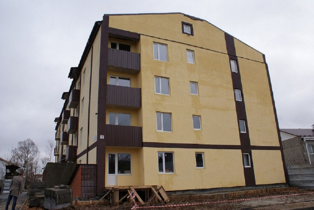 В этом году в области планируют построить порядка 800 тысяч квадратных метров жилья