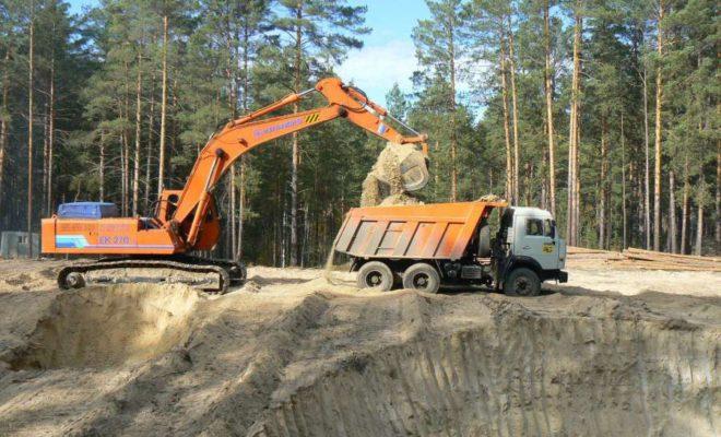 За незаконную добычу полезных ископаемых фирму оштрафовали на 830 тысяч