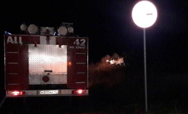 В аварии под Козельском  пострадали восемь человек