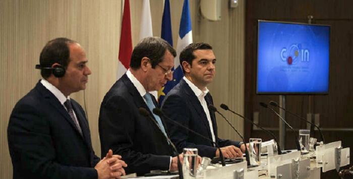 Греция, Кипр иЕгипет демаркируют общие морские границы