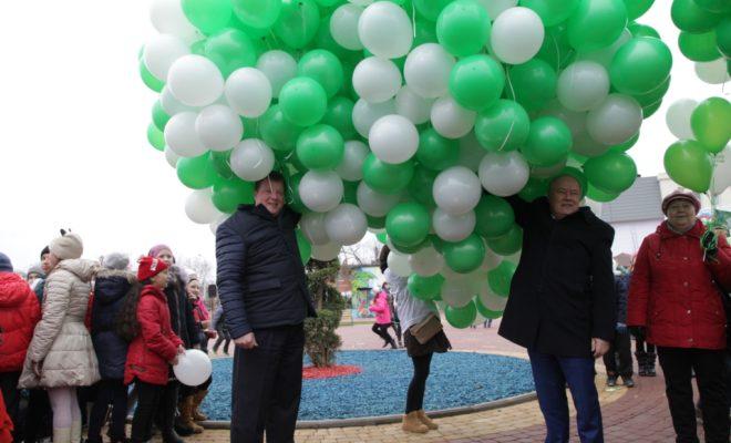 В центре Калуги открыли новый сквер