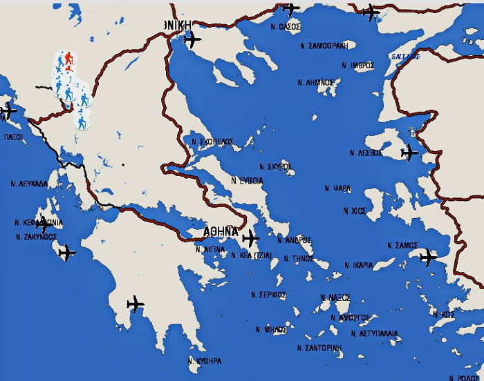 Презентован самый длинный турмаршрут вГреции