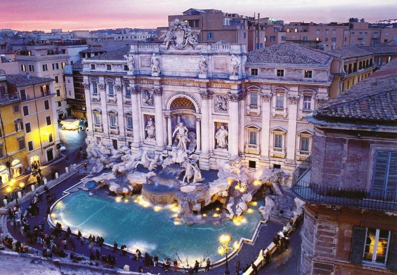 История и традиции фонтана Треви в Риме