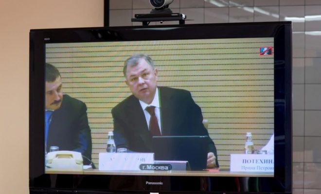 Губернатор принял участие в конференции, посвященной решению задач в области обороны страны