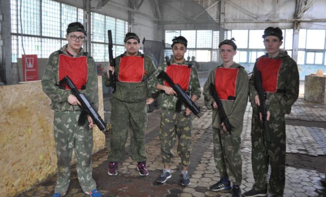 Студенты в Калуге устроят лазерный бой