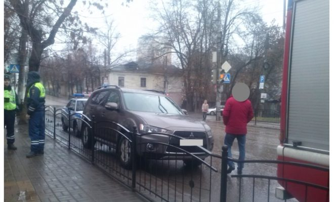 В центре Калуги сбили пешехода