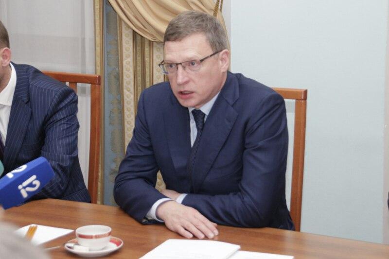 Александр Бурков хочет участвовать ввыборах губернатора Омской области