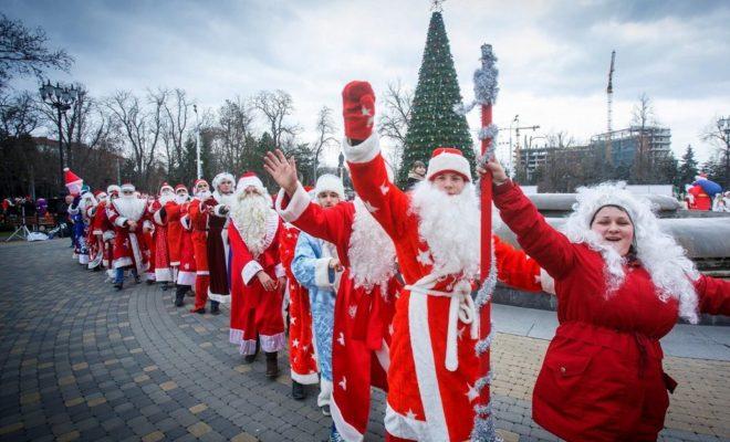 Лучшие Деды Морозы Калуги пройдут парадом