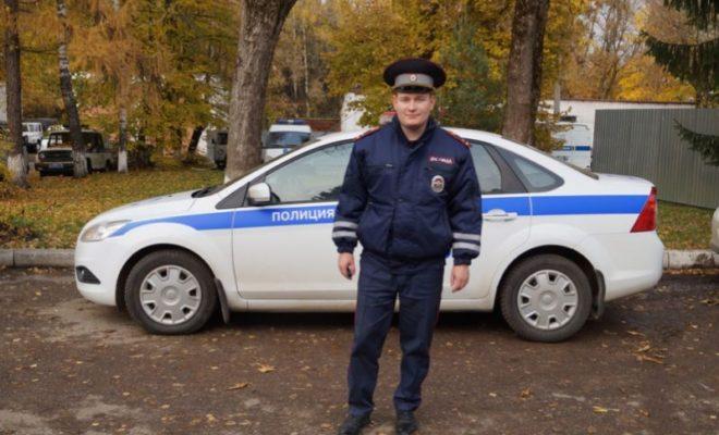 О профессии инспектора ГИБДД он мечтал с детства