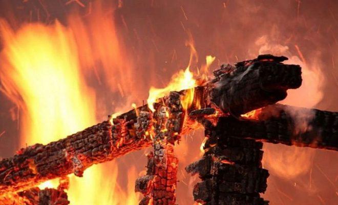 На пожаре в Малоярославецком районе погиб человек