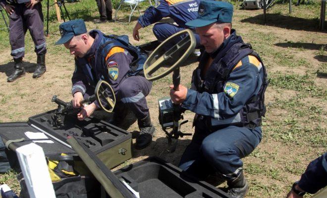 23 миномётные мины уничтожили в Людиновском районе