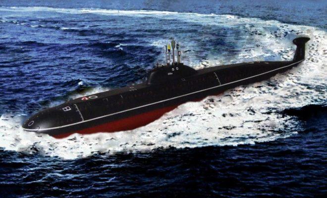 Субмарина «Обнинск» признана лучшей на Северном флоте