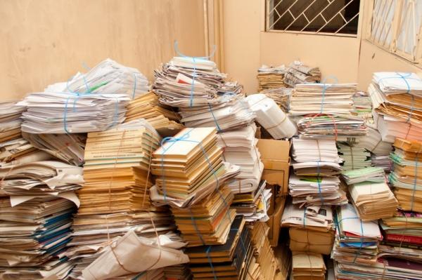 Районы посоревнуются в сборе ненужной бумаги