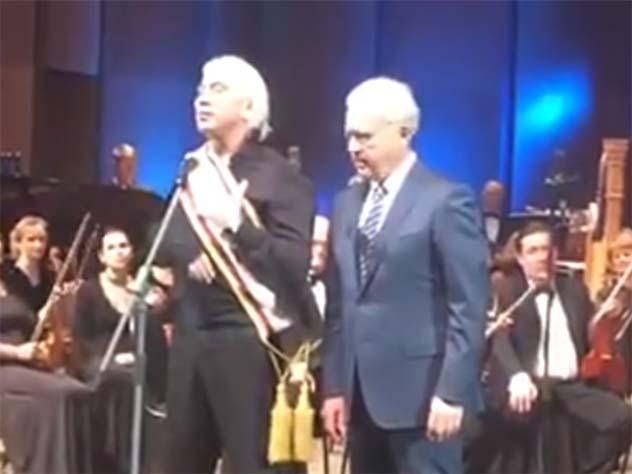 Всети интернет появилось последнее выступление Дмитрия Хворостовского