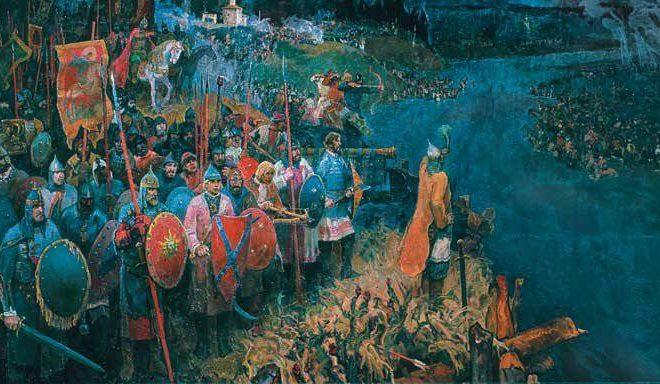 Победу над монгольским войском на берегах Угры празднуют в Калуге