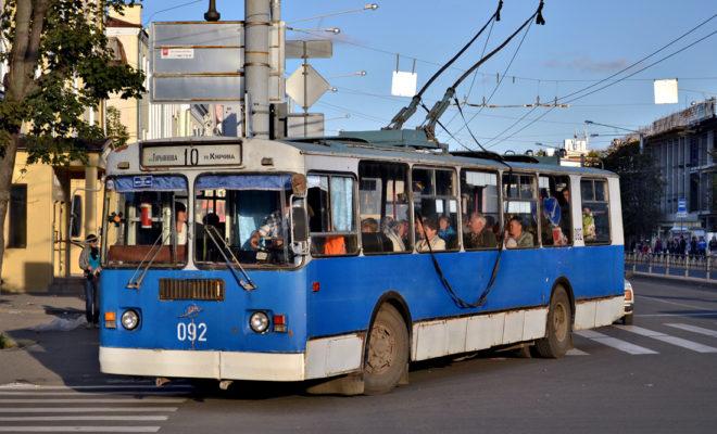 Калужский троллейбус поддержали за счет городского бюджета