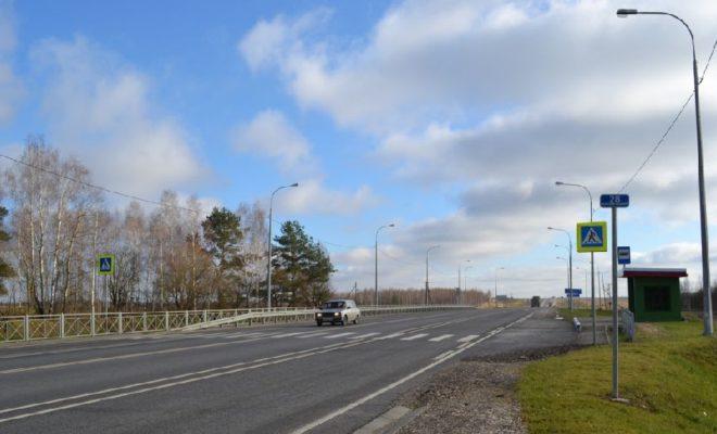 Дорожники отремонтировали почти 60 км трассы «Калуга-Тула»