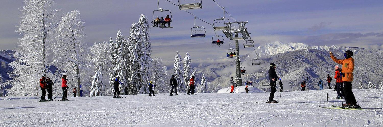 ВСочи ввыходные откроется еще больше горнолыжных трасс