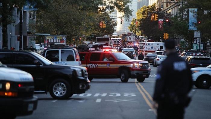 Взрыв вНью-Йорке: ранен 1 человек