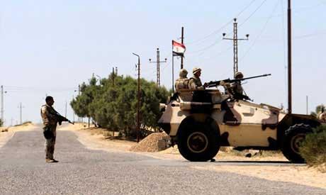 Армия Египта ликвидирует укрытия боевиков вСинае
