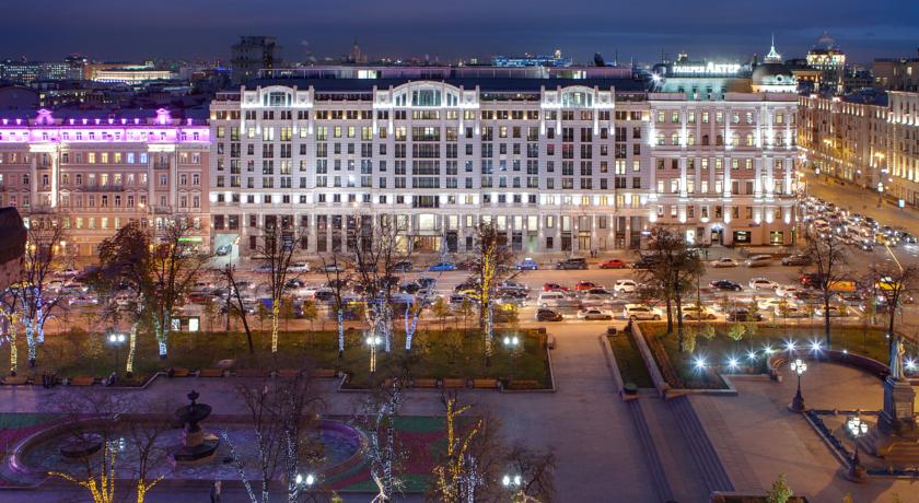 Роскошный отель в Москве