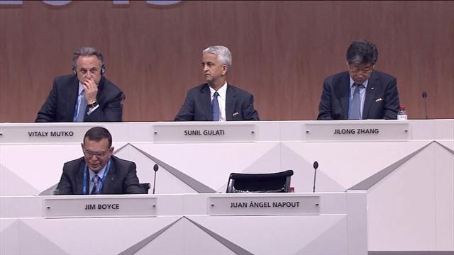 Два депутата ФИФА признаны виновными поделу окоррупции вФИФА