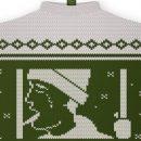 Новогодний свитер соленями стал популярным мемом о русских реалиях