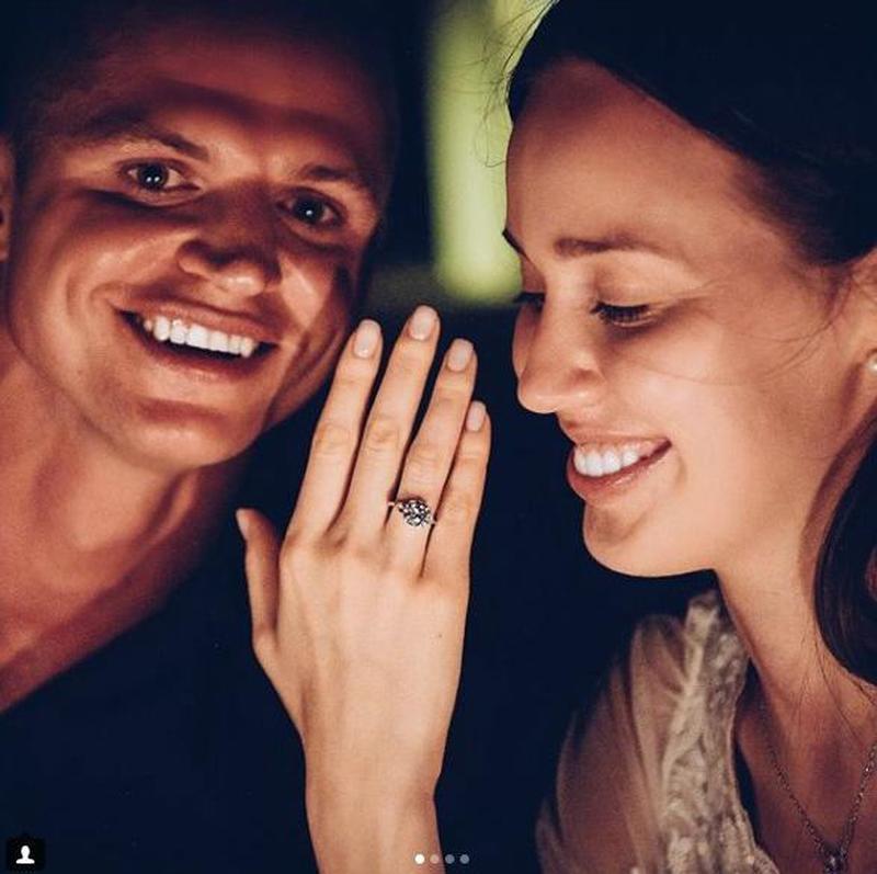 Прежний супруг Ольги Бузовой сделал предложение свежей возлюбленной