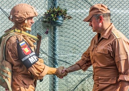 Военные полицейские ЮВО вернулись изСирии вМахачкалу