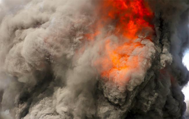 Пожар вдевятиэтажке напоселке Котовского: необошлось без жертв