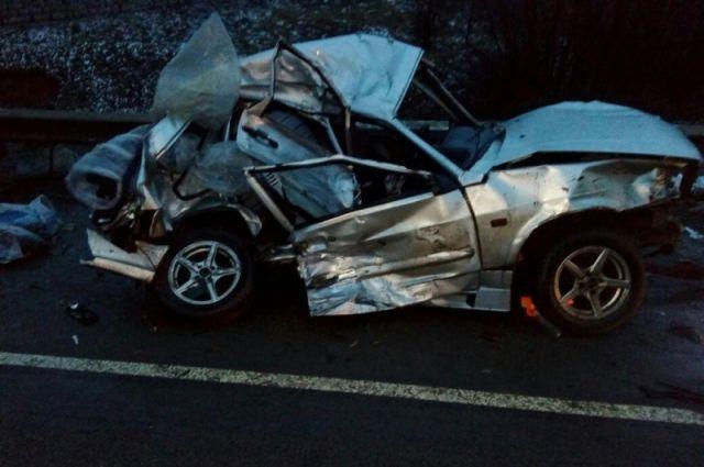 Под Тамбовом встолкновении грузового автомобиля илегковушки погибла женщина
