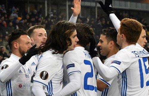 Киевское «Динамо» выиграло группу Лиги Европы