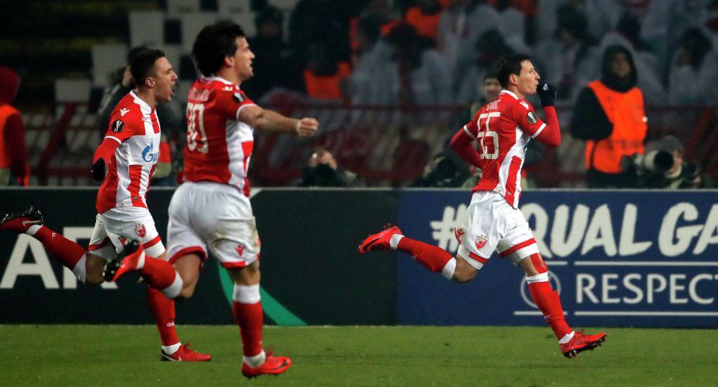 «Црвена Звезда» одолела «Кёльн» иквалифицировалась вплей-офф Лиги Европы