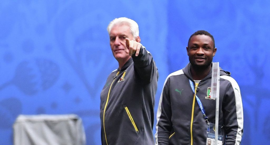 Главный тренер сборной Камеруна отправлен вотставку